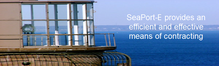 SeaPort-e provides an efficient and effective means of contracting